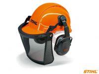 Шолом STIHL ECONOMY із захисною сіткою і навушниками (00008851400)