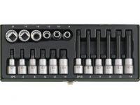 Торцеві насадки та головки XZN від 5 до 14 мм (23296)