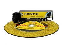 Круг відрізний 125х1,0х22 А60N Extra Inox Klingspor