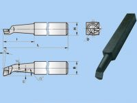 Різець розточний для глухих отворів 25х25х200 ВК8